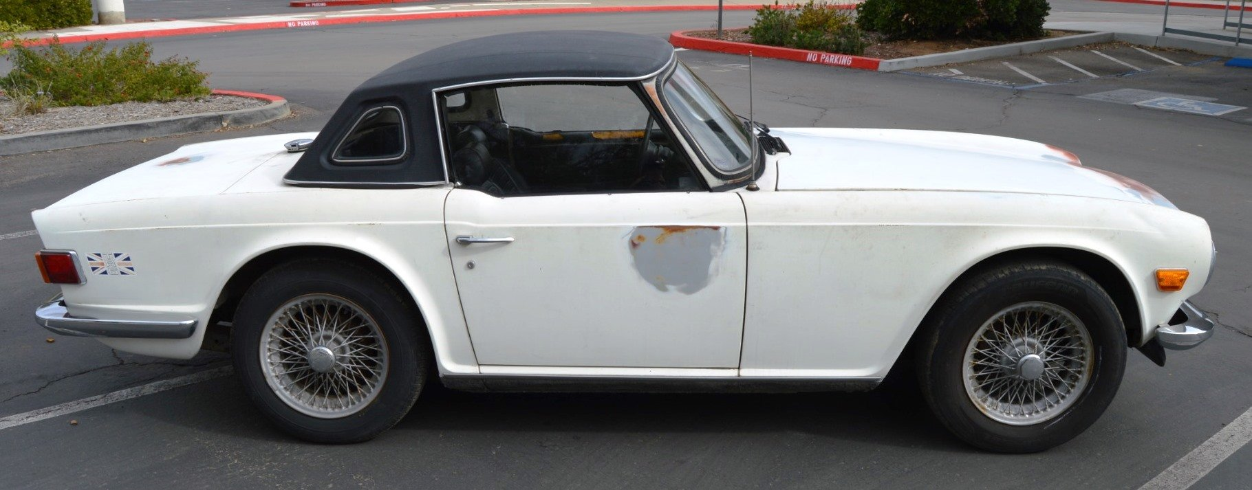 1973 Rust Free Triumph Tr6 White  For Sale (picture 2 of 6)
