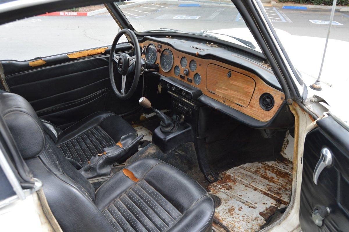1973 Rust Free Triumph Tr6 White  For Sale (picture 4 of 6)