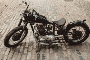 Picture of 1954 Pre-Unit Triumph T100 Custom Bobber