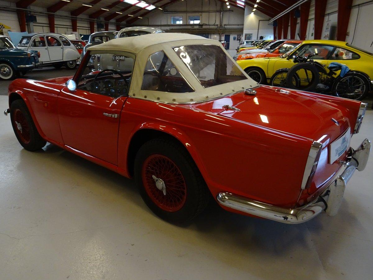 1962 Triumph TR4 – Restored For Sale (picture 4 of 20)