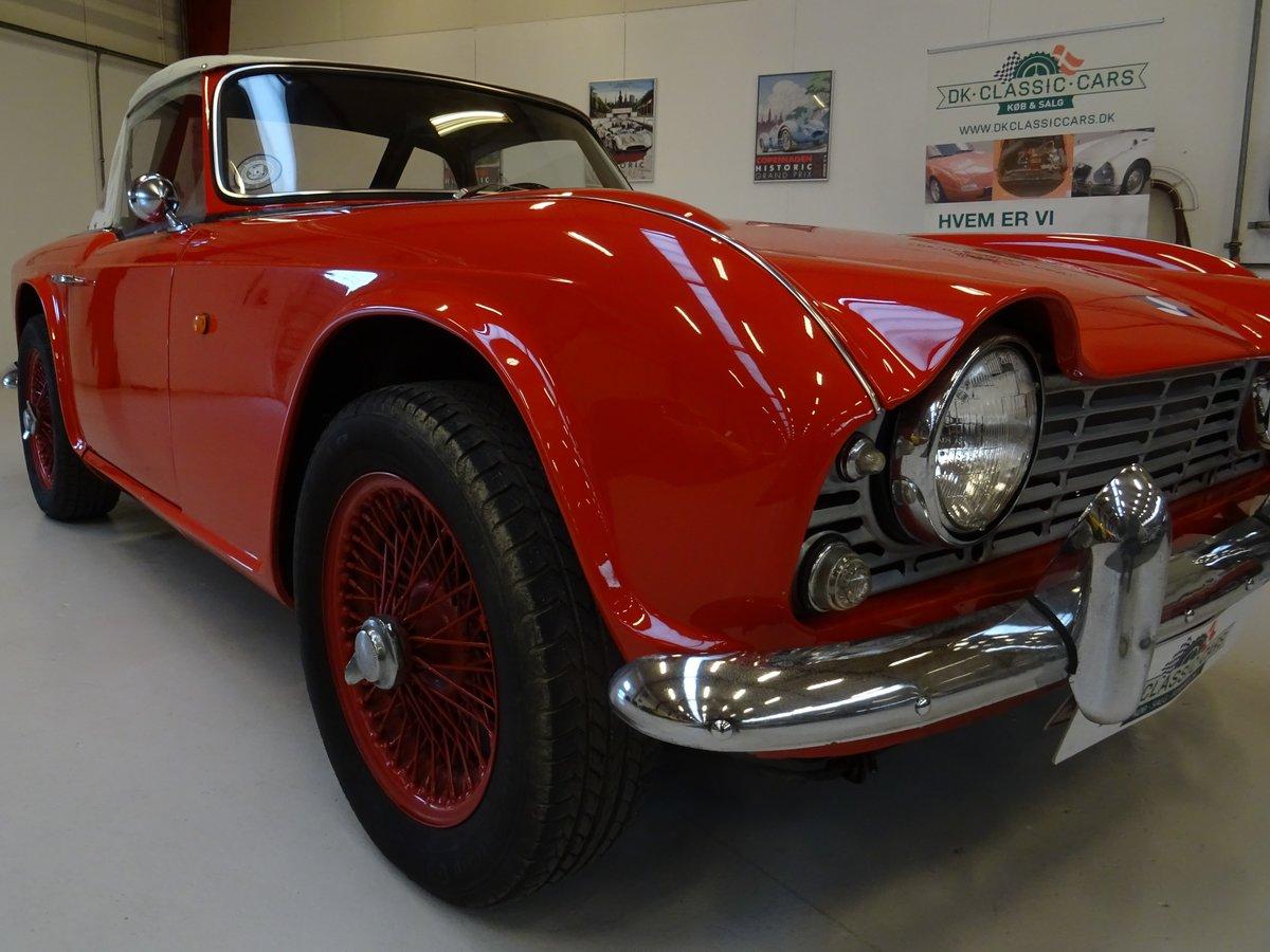 1962 Triumph TR4 – Restored For Sale (picture 6 of 20)