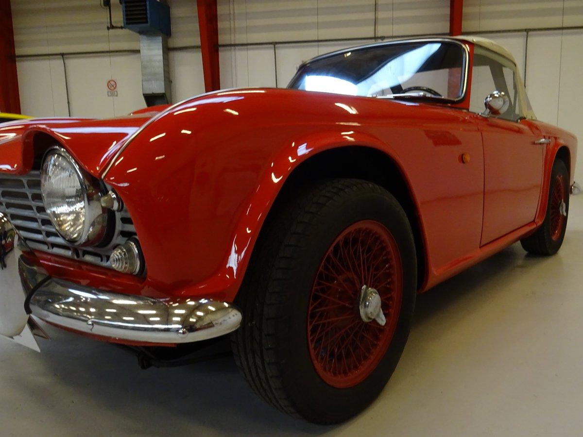 1962 Triumph TR4 – Restored For Sale (picture 7 of 20)