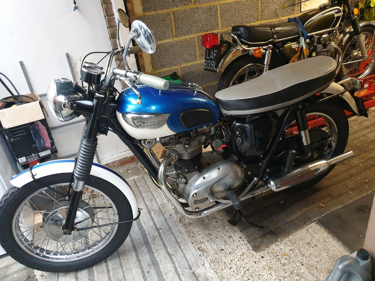 1966 Triumph Trophy American SOLD (picture 1 of 6)