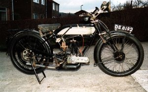 Triumph Model P - partially restored (MOT in 1992)