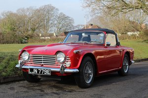 Triumph TR4 IRS 1967 - To be auctioned  For Sale by Auction