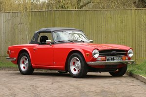 1972 Triumph TR6, 150bhp with overdrive SOLD