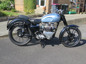 1955 Triumph Thunderbird 6T - 06/05/20 SOLD by Auction