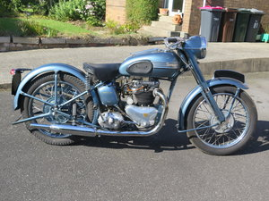 1954 Triumph Thunderbird 6T - 06/05/20 SOLD by Auction