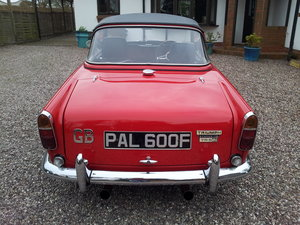 1968 Triumph TR5 uk home market RHD model    SOLD (picture 2 of 6)