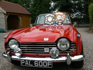 1968 Triumph TR5 uk home market RHD model    SOLD (picture 3 of 6)