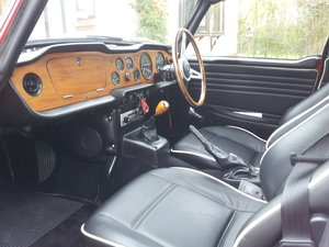 1968 Triumph TR5 uk home market RHD model    SOLD (picture 5 of 6)