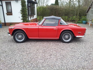 1968 Triumph TR5 uk home market RHD model    SOLD (picture 6 of 6)