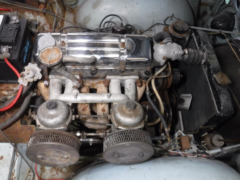 Triumph TR4A 1966 SOLD (picture 5 of 6)