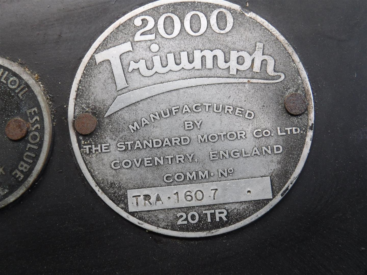 Triumph 2000 roadster 1949  SOLD (picture 6 of 6)