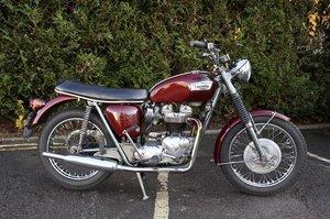 Matching Number 1969 Triumph T120 Bonneville 650cc For Sale