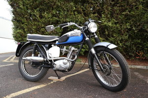 Matching Numbers Triumph T20 Mountain Cub 1965
