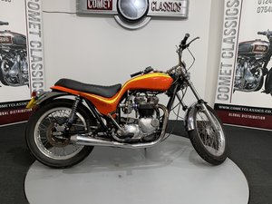 1978  Triumph t140 Hurricane look alike