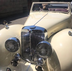 1948 Triumph Roadster Bergerac car
