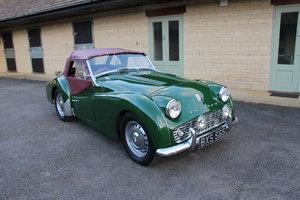 1958 TRIUMPH TR3A FAST ROAD SPEC – £33,950