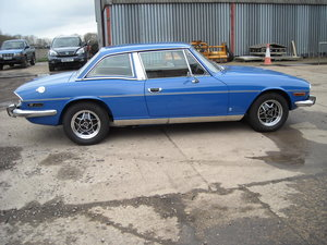1977 TRIUMPH STAG MK2 MAN O/D SHOW CONDITION CAR NOW SOLD