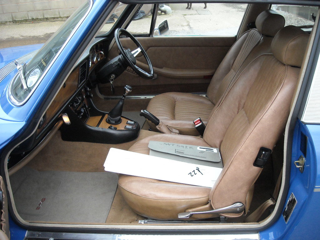 1977 TRIUMPH STAG MK2 MAN O/D SHOW CONDITION CAR NOW SOLD For Sale (picture 5 of 6)