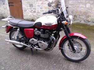2013 Triumph Bonneville low mileage Leeds retro