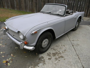1967 Triumph TR4A IRS To Restore ,  Stored 40 Years