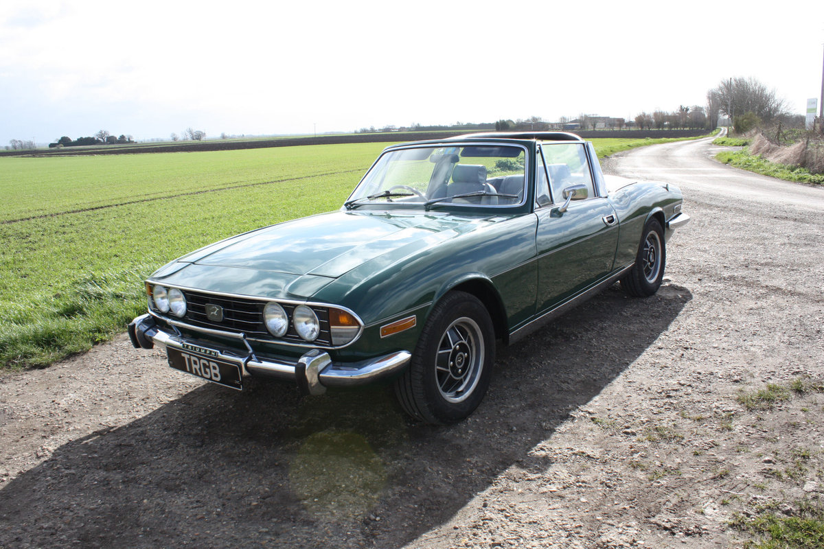 TRIUMPH STAG. 1971. MANUAL GEARBOX WITH OVERDRIVE. SOLD (picture 1 of 6)