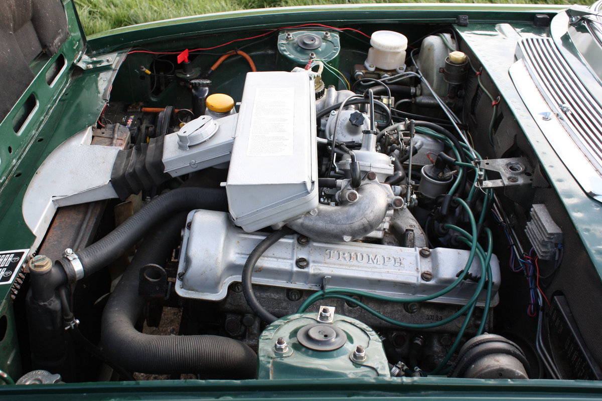 TRIUMPH STAG. 1971. MANUAL GEARBOX WITH OVERDRIVE. SOLD (picture 3 of 6)