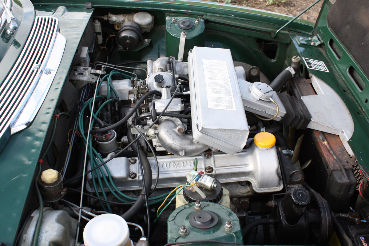 TRIUMPH STAG. 1971. MANUAL GEARBOX WITH OVERDRIVE. SOLD (picture 4 of 6)