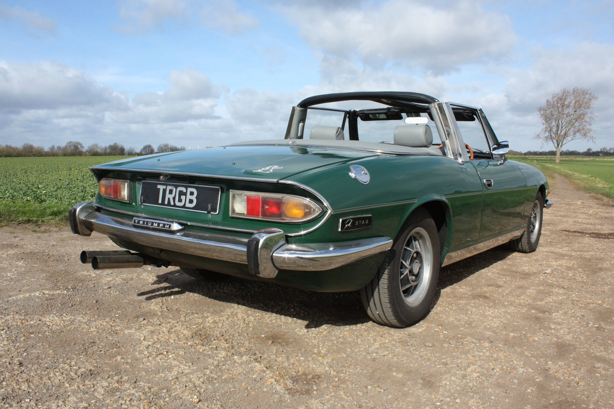 TRIUMPH STAG. 1971. MANUAL GEARBOX WITH OVERDRIVE. SOLD (picture 6 of 6)