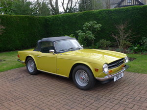 Triumph TR6 Pi,Genuine car 60000miles with history