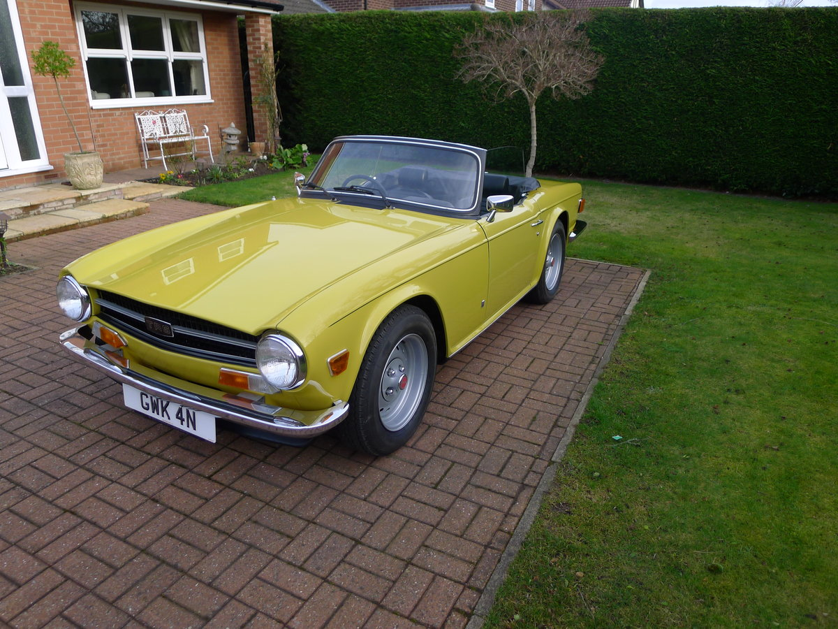 1974 Triumph TR6 Pi,Genuine car 60000miles with history For Sale (picture 2 of 6)