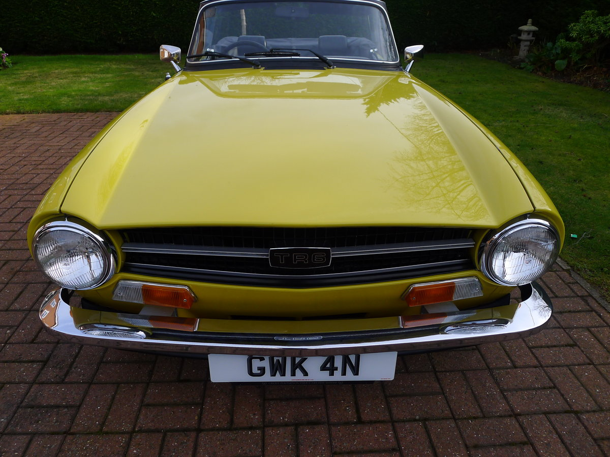1974 Triumph TR6 Pi,Genuine car 60000miles with history For Sale (picture 4 of 6)
