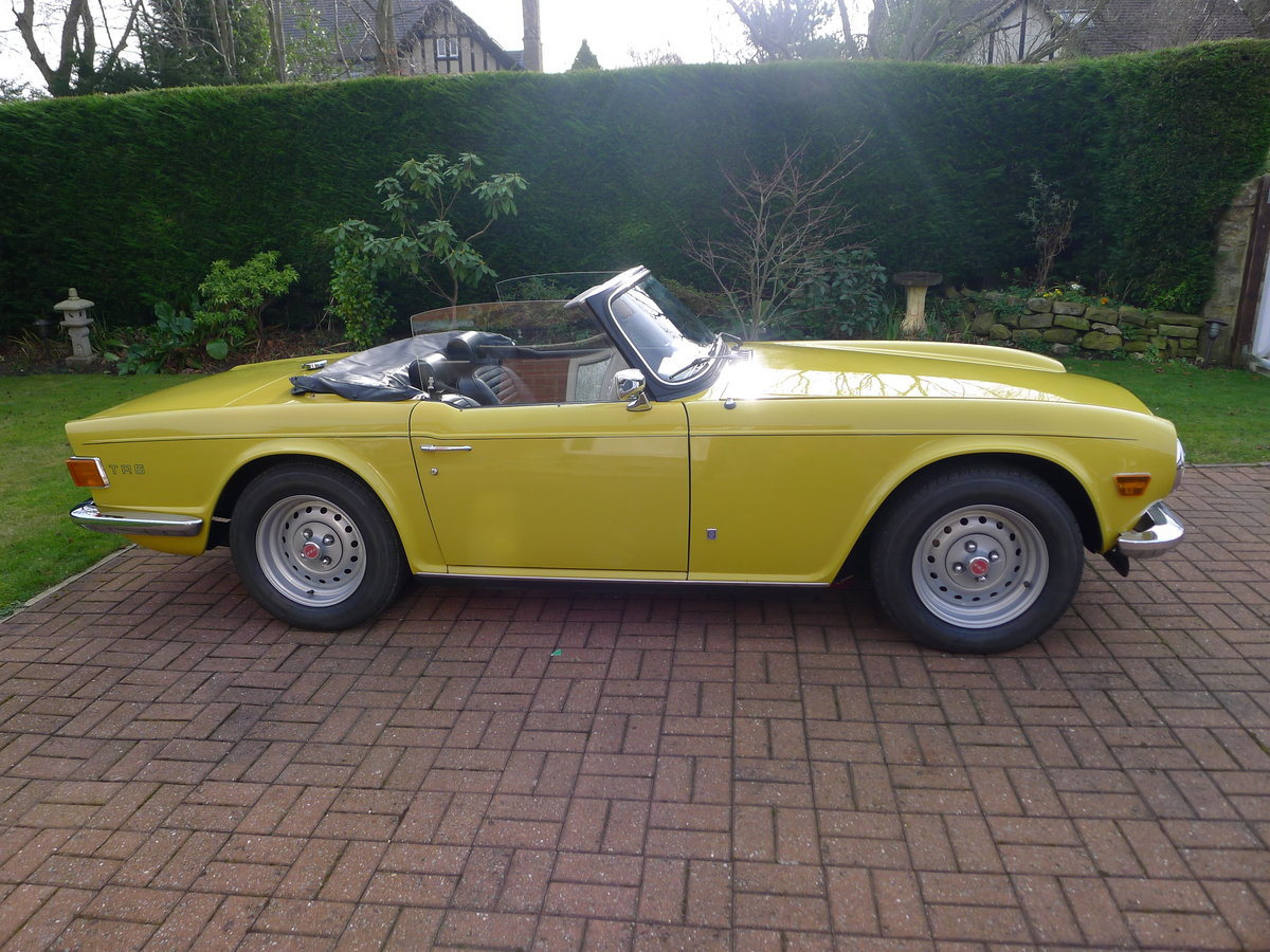 1974 Triumph TR6 Pi,Genuine car 60000miles with history For Sale (picture 5 of 6)