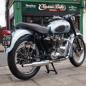 1956 Triumph Tiger 100 Concours d'Elegance Condition. For Sale