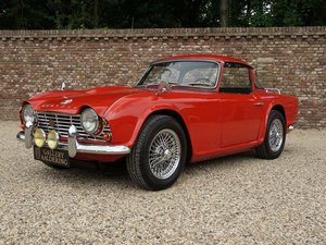 Triumph TR4 Surrey Top documented from day one, two owners f