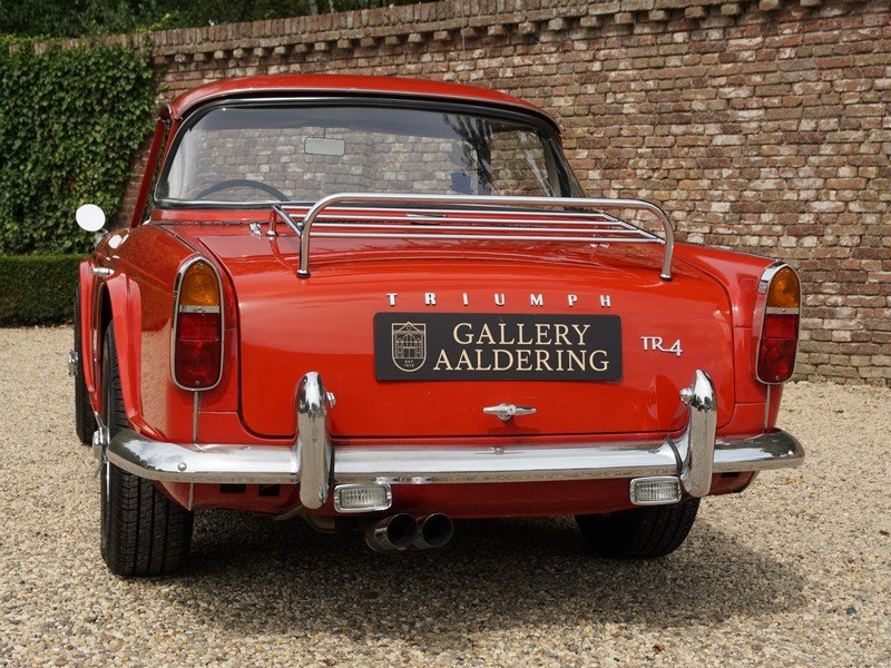 1964 Triumph TR4 Surrey Top documented from day one, two owners f For Sale (picture 6 of 6)