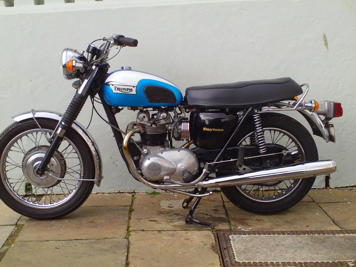 1976 TRIUMPH DAYTONA T100R SOLD (picture 3 of 6)