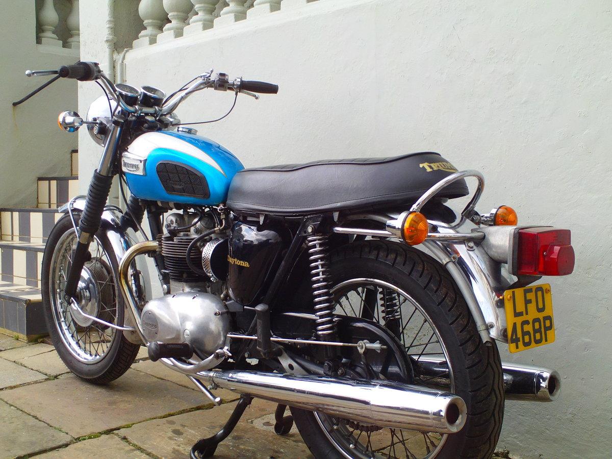 1976 TRIUMPH DAYTONA T100R SOLD (picture 4 of 6)
