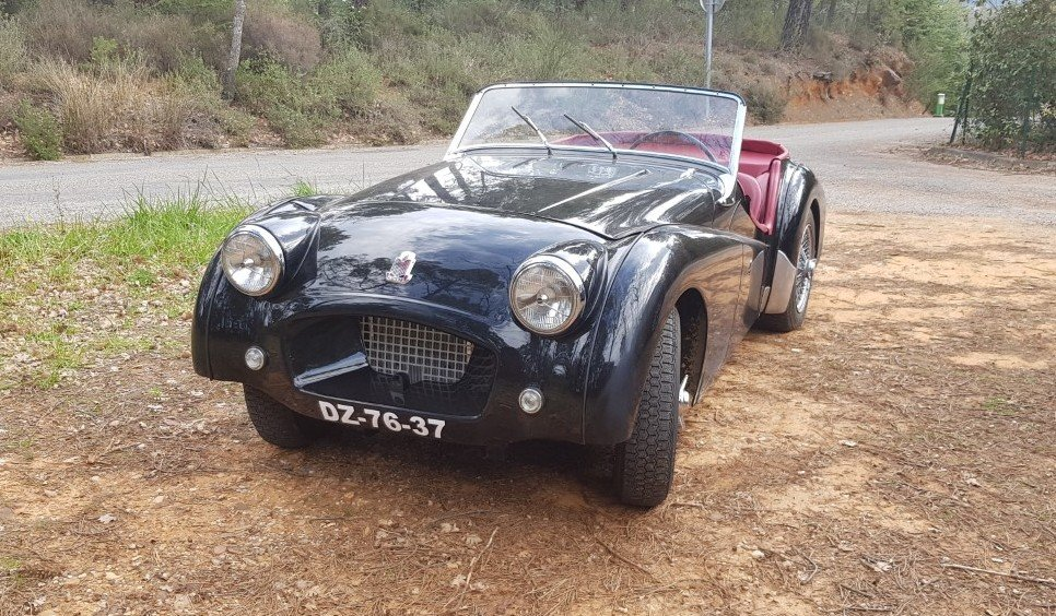 1953 Rare Triumph TR2 Long door  For Sale (picture 1 of 5)