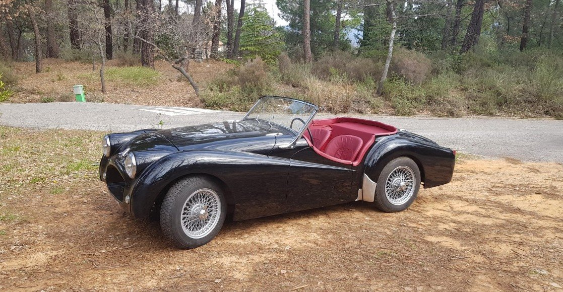 1953 Rare Triumph TR2 Long door  For Sale (picture 2 of 5)