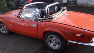 1972 Triumph Spitfire 2000, GT6, 5speed