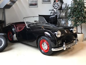 1955 Very nice Triumph TR2 Long Door with Overdrive