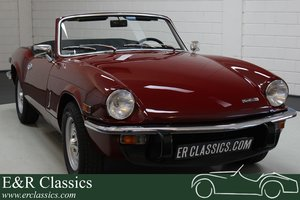 Triumph Spitfire MKIV Cabriolet 1971 Burgundy red For Sale
