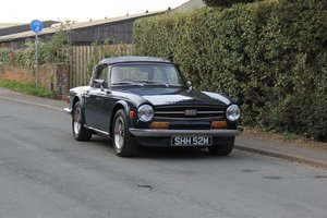 Triumph TR6, Gas Flowed, Fast Road, Triple Dellorto Carbs