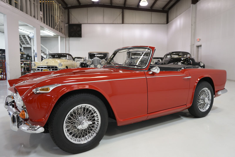 1965 Triumph TR4A Roadster For Sale (picture 1 of 6)