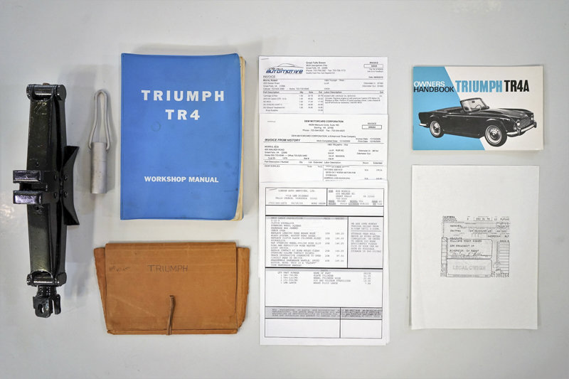 1965 Triumph TR4A Roadster For Sale (picture 6 of 6)