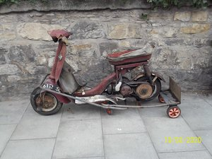 1963 Triumph Tina Scooter Barn Find Project