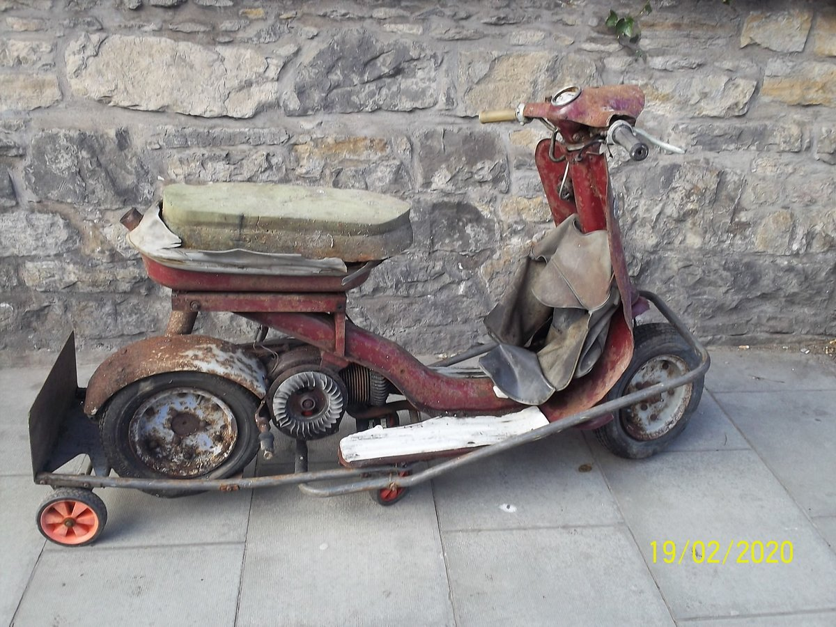 1963 Triumph Tina Scooter Barn Find Project SOLD (picture 2 of 6)